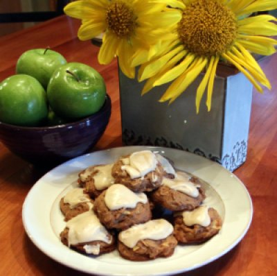 fresh apple cookies