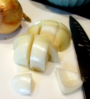 onion, chopped large