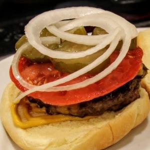 pan seared burgers
