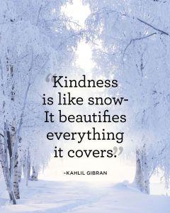 kindnesssnow